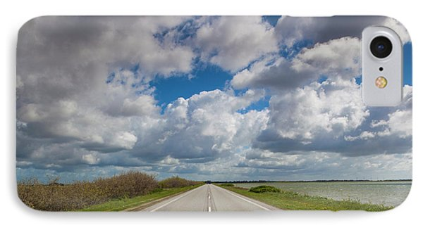 Denmark, Jutland, Oslos, Route 11 Road IPhone Case