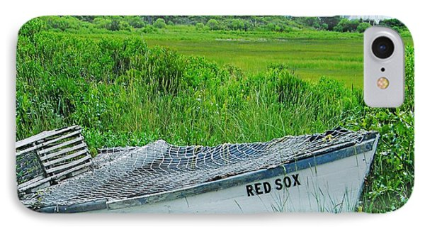 IPhone Case featuring the photograph Dennis Cape Cod And The Red Sox by Lizi Beard-Ward