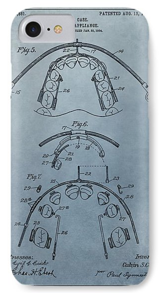 Dental Braces Patent Design IPhone Case