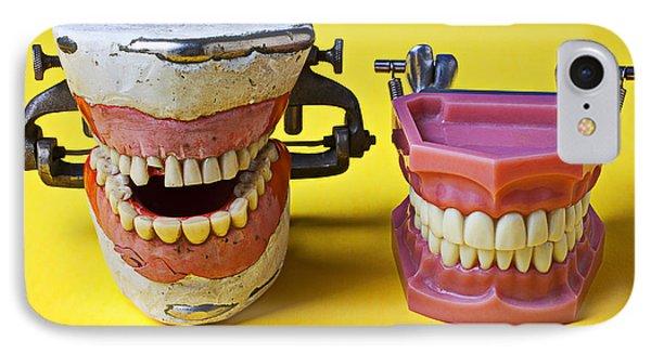 Dental Models Phone Case by Garry Gay