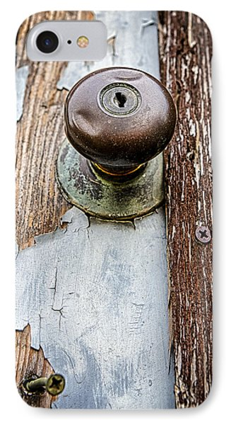 Dented Doorknob Phone Case by Caitlyn  Grasso
