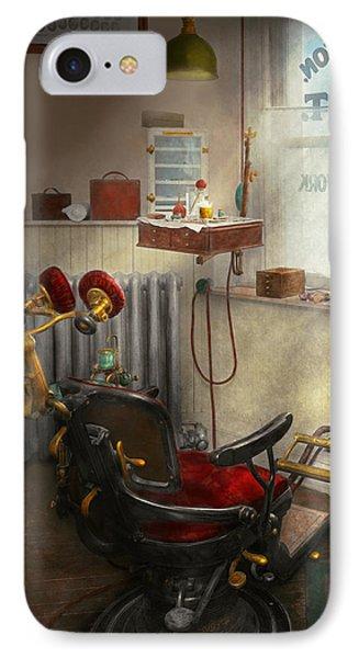 Dentist - Sb Johnston Dentist 1919 IPhone Case by Mike Savad