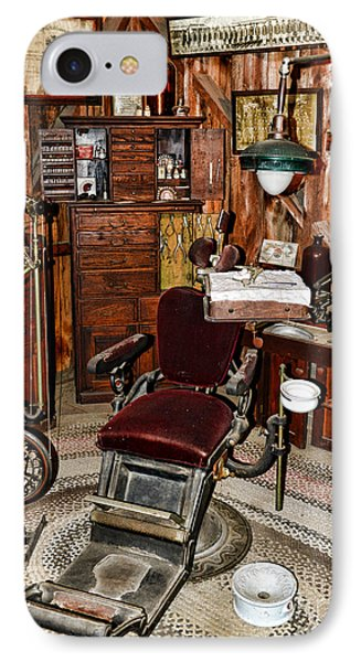 Dentist - The Dentist Chair IPhone Case by Paul Ward