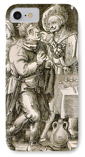 Dentistry In 17th Century France IPhone Case