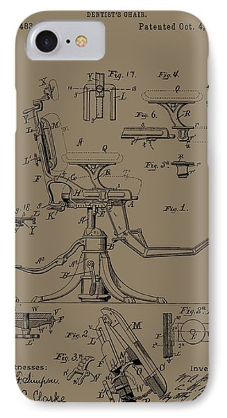 Dentist's Office Phone Case by Dan Sproul
