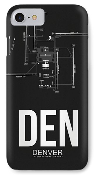 Denver Airport Poster 1 IPhone Case