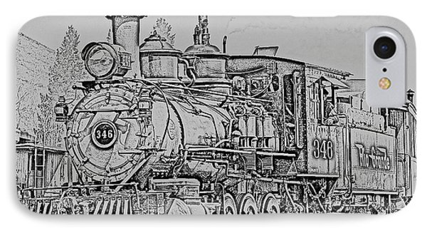Denver And Rio Grande #346 IPhone Case by J Griff Griffin