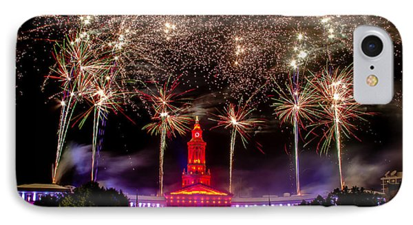 Denver Co 4th Of July Fireworks Phone Case by Teri Virbickis