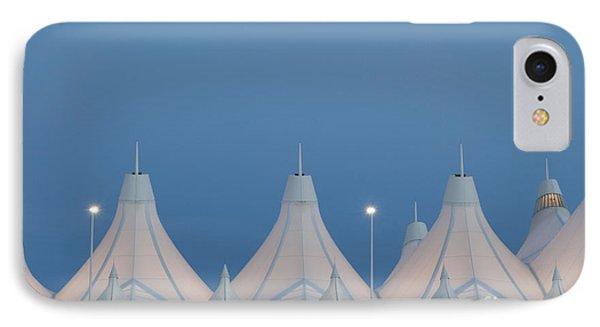 Denver International Airport At Dusk IPhone Case by Juli Scalzi