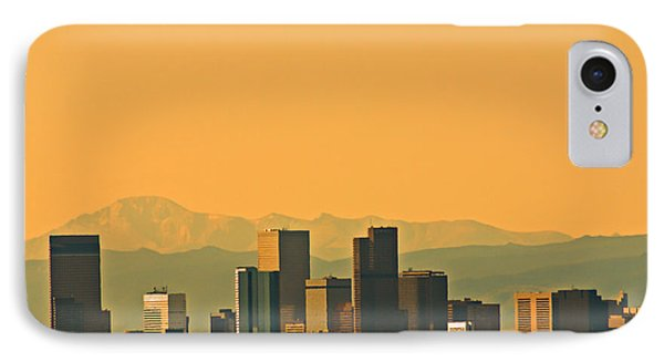Denver Skyline IPhone Case by Colleen Coccia