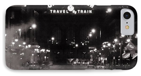 Denver Union Station Square Image IPhone Case by Ken Smith