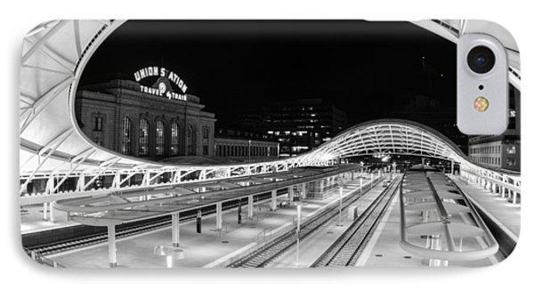 Denver's Union Station IPhone Case by Kristal Kraft