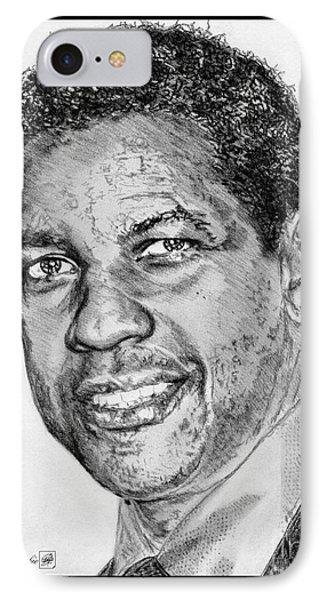 Denzel Washington In 2009 Phone Case by J McCombie