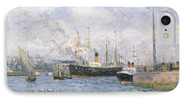Departure From Havre Phone Case by Maxime Emile Louis Maufra