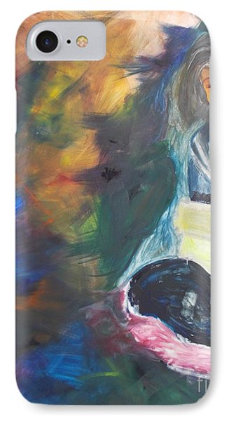 IPhone Case featuring the painting Depression by PainterArtist FIN