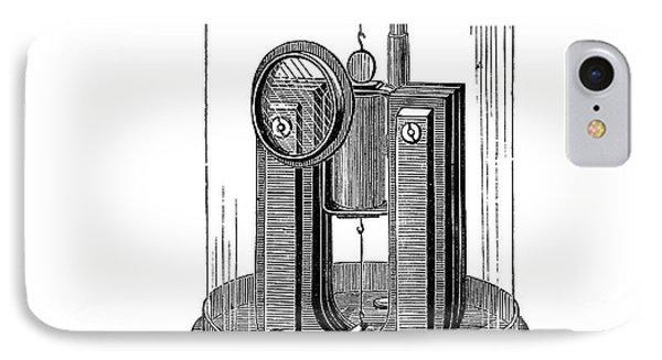 Deprez-d'arsonval Galvanometer IPhone Case by Science Photo Library
