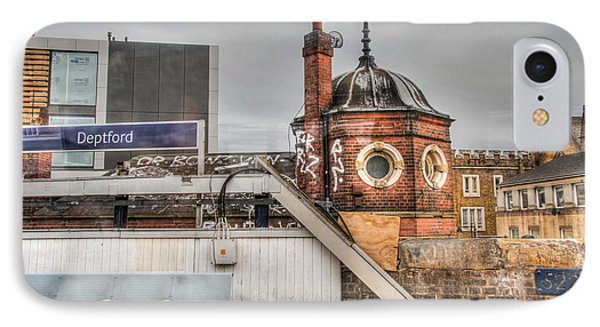 IPhone Case featuring the photograph Deptford Station by Ross Henton
