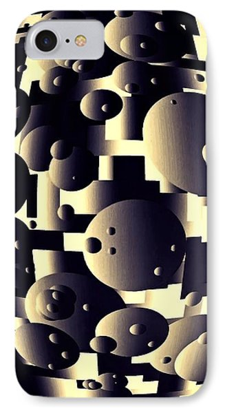 Depth Of Thought IPhone Case by Susan Maxwell Schmidt
