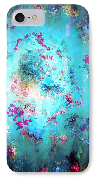 Depths Of Emotion - Abstract Art IPhone Case