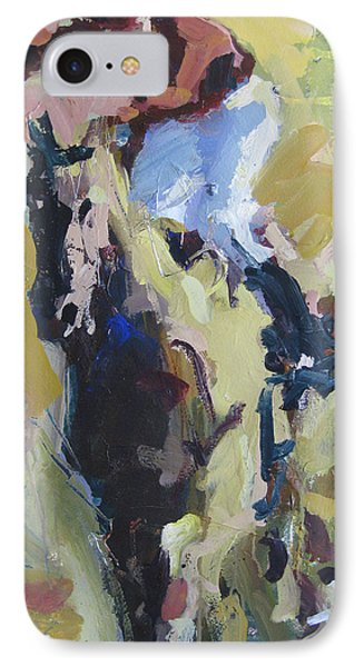 IPhone Case featuring the painting Derby Dwellers by Robert Joyner