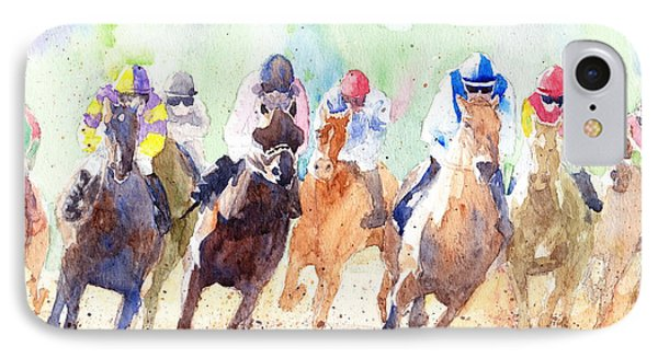 Derby IPhone Case by Max Good