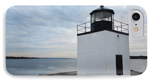Derby Wharf Light Salem Ma IPhone Case by Toby McGuire