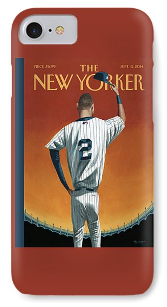 Derek Jeter Bows IPhone 7 Case