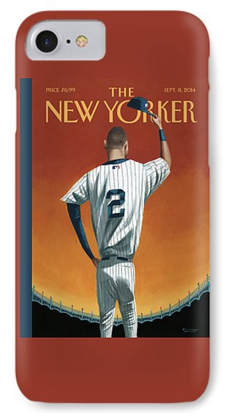 Derek Jeter Bows IPhone Case