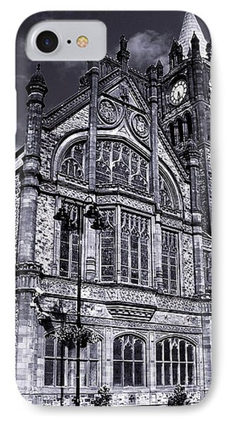 Derry Guildhall IPhone Case by Nina Ficur Feenan