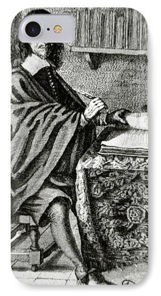 Descartes, Rene (la Haye, Touraine IPhone Case by Prisma Archivo