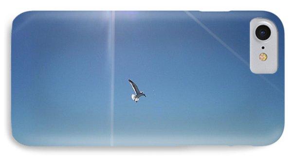 Descending Gull IPhone Case