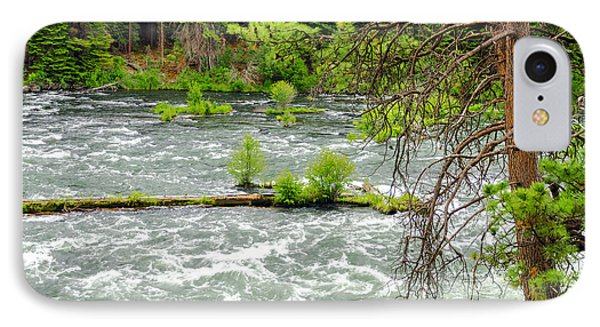 Deschutes River In Central Oregon IPhone Case by Jess Kraft