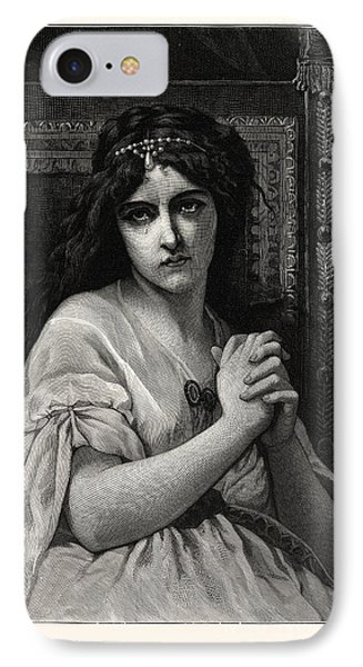 Desdemona. After Cabanal. Desdemona Is A Character IPhone Case