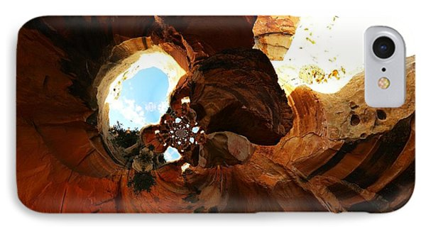 Desert Abstract IPhone Case by Jeff Swan