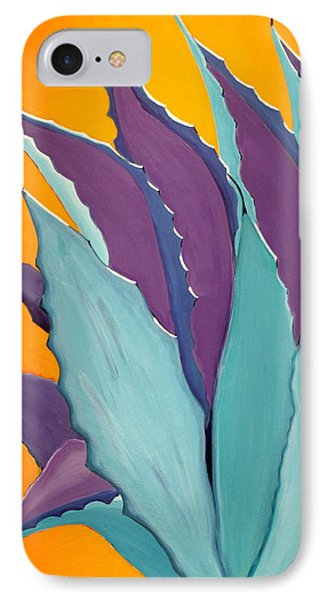 Desert Agave Cactus IPhone Case by Karyn Robinson