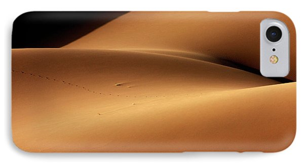 Desert And The Human Torso IPhone Case