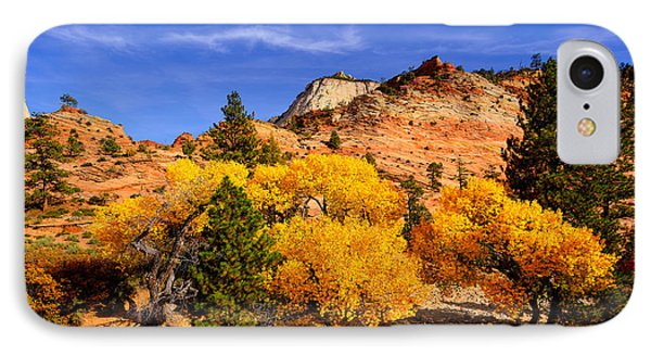 IPhone Case featuring the photograph Desert Autumn by Greg Norrell