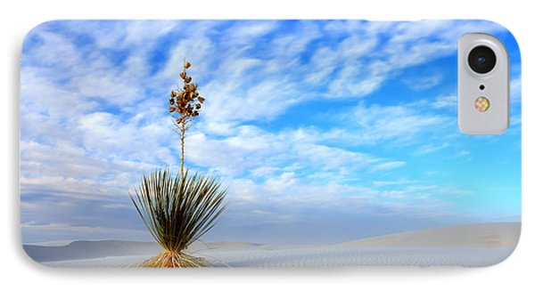 Desert Beauty White Sands New Mexico Phone Case by Bob Christopher