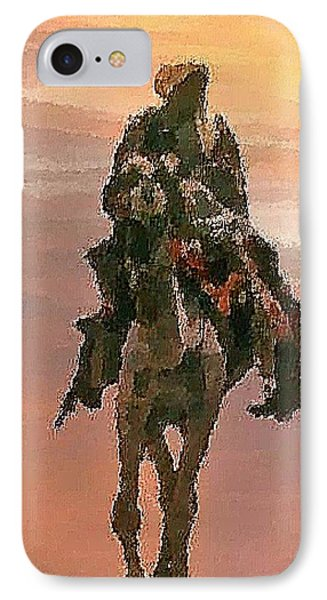 Desert. Bedouin. IPhone Case by Dr Loifer Vladimir