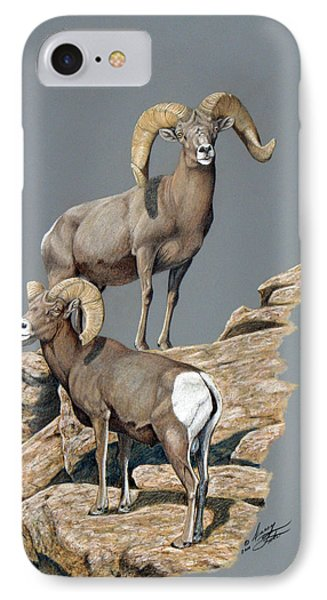 Desert Bighorn Rams IPhone Case