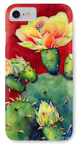 Universities iPhone 7 Case - Desert Bloom by Hailey E Herrera