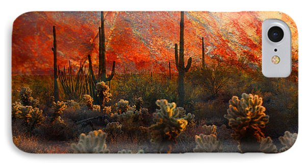Desert Burn IPhone Case