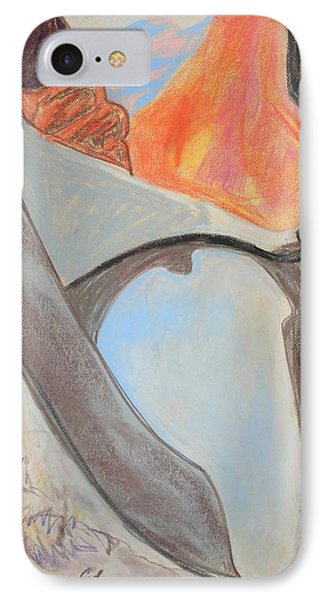 Desert Canyon Pool In The Negev Phone Case by Esther Newman-Cohen