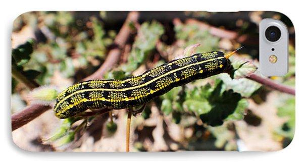 Desert Caterpillar Phone Case by Rebecca Christine Cardenas