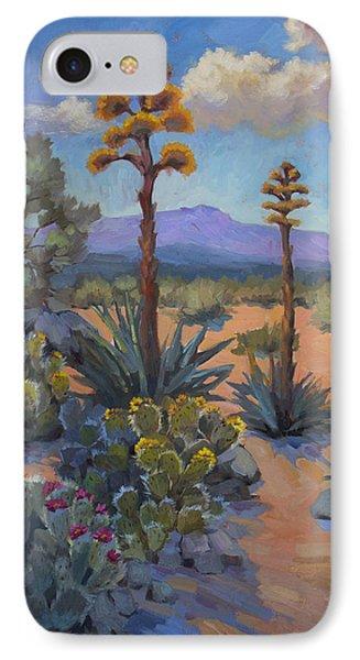 Desert Century Plants IPhone Case