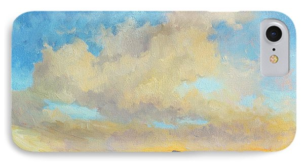 Mountain Sunset iPhone 7 Case - Desert Clouds by Diane McClary
