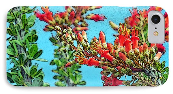 Desert Coral IPhone Case by Louis Nugent