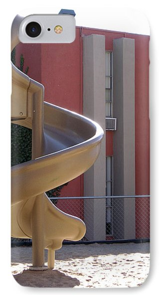 Desert Creek Apts Curves And Lines IPhone Case
