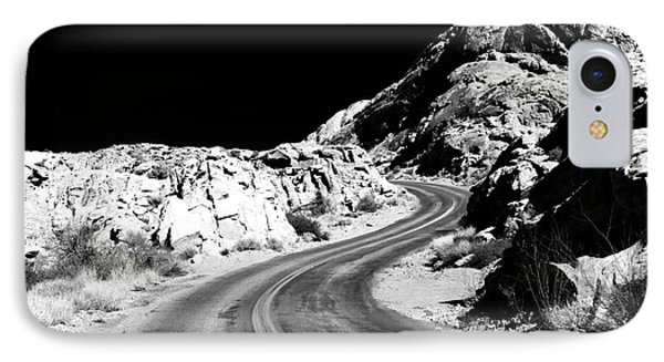 Desert Curves Phone Case by John Rizzuto