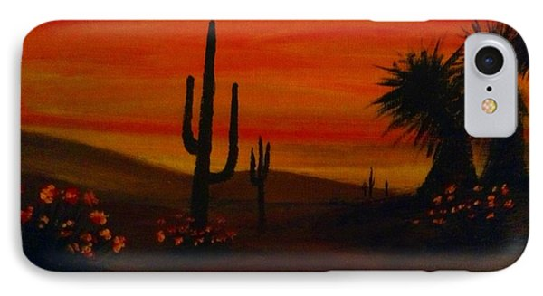 Desert Dance IPhone Case by Becky Lupe
